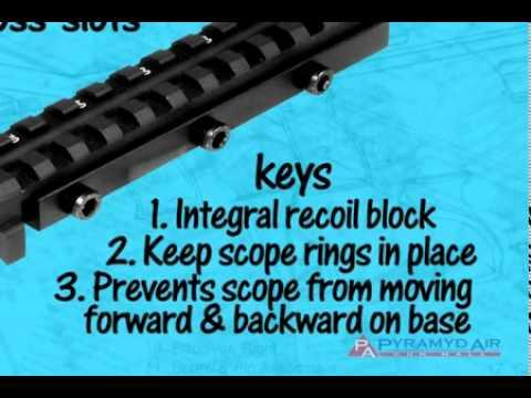 Scope Bases. Introduction to scope mounts - Airgun Academy Episode #18