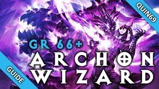 getlinkyoutube.com-Diablo 3: GR66+ Vyr's Archon Wizard build (Patch 2.3)