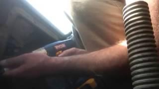 GMC tailgate window