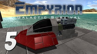 Empyrion: Galactic Survival Gameplay - #5 - Building a Custom Vessel!