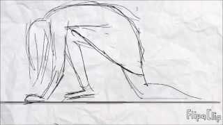 getlinkyoutube.com-girl climbing wall flipaclip animation test
