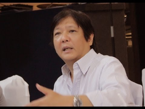 Sen. Bongbong Marcos -- Public consultation in General Santos City (15 March 2013)