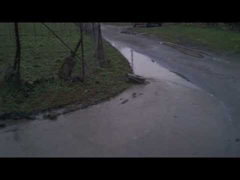 #36 Homemade RC tracked vehicle ( UGV ) - In a little water - J.Laci