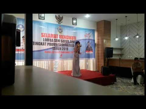 Yosepha Sebayang mewakili Kabupaten Simalungun dar