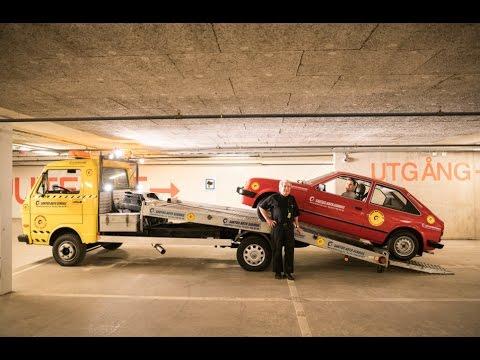 Opel Kadett D och VW LT45 i tjanst!