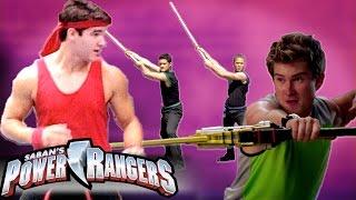 getlinkyoutube.com-Power Rangers - Rangers in Training