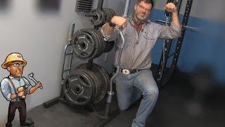 getlinkyoutube.com-How to Build a Gym Weight Tree - DIY Dudes
