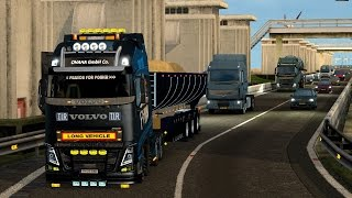 Euro Truck Simulator 2 - Volvo FH 2013 by Ohaha and Tipper trailer
