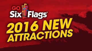 getlinkyoutube.com-NEW 2016 Rides For Six Flags Theme Parks !!! ... Coming Attractions! Roller Coasters! Thrill Rides!