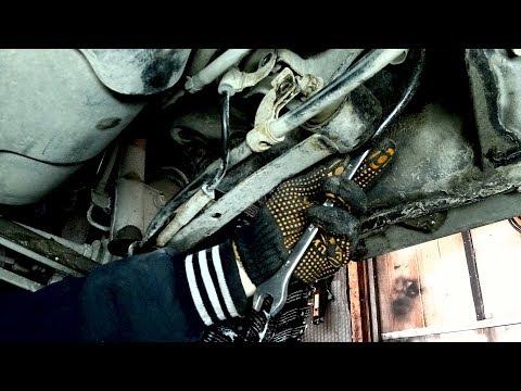 Замена сайлентблока продольного рычага на Subaru