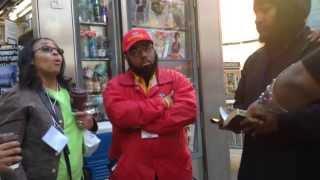 getlinkyoutube.com-Black Christian Women VS. Hebrew Israelites on Time Square