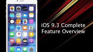 getlinkyoutube.com-Top iOS 9.3 New and Hidden Features