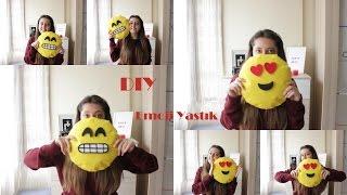 getlinkyoutube.com-DIY | Kendin Yap | Emoji Yastık