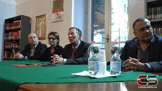 Conferenza stampa Laccoto-Cimino elezioni nazionali 2018 - www.canalesicilia.it