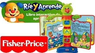 getlinkyoutube.com-Ríe y Aprende Libro Interactivo de aprendizaje Fisher-Price