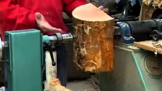 getlinkyoutube.com-Lyle on Mounting Wood Blanks on a Lathe