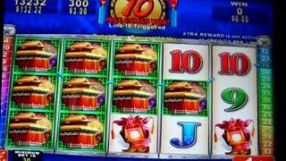 getlinkyoutube.com-Lion Festival - BIG WINS - Bonus & Hits - 1c Konami Video Slots