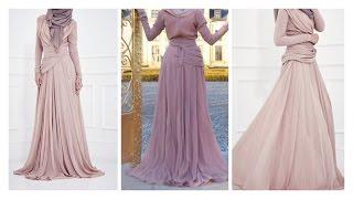 getlinkyoutube.com-INAYAH Abaya Tutorial  | Eid outfit inspiration|Circle cut design #1|Bobiz Kollection