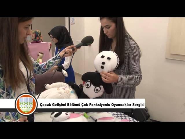 Çocuk Gelişimi Bölümü Çok Fonksiyonlu Oyuncaklar Sergisi