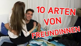 getlinkyoutube.com-10 ARTEN VON FREUNDINNEN/GIRLFRIENDS! - Wakez