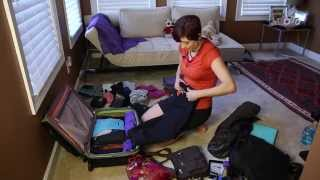 How to Pack Light for Women with a Rolling Suitcase