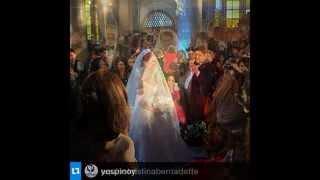 WEDDING of MARIAN RIVERA & DINGDONG DANTES DongYan Wedding Part 1 Posted : Jairene