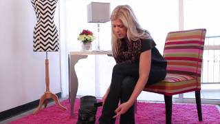 getlinkyoutube.com-Hollywood Fashion Secrets - Boot Straps