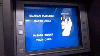Cara penarikan uang di ATM BRI