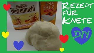 getlinkyoutube.com-DIY Knete selber machen/ einfaches Rezept für Salzteig/ Alternative zu Play-Doh oder Fimo