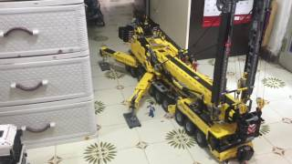 getlinkyoutube.com-Lego technic 9.1 RC Crane