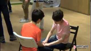 getlinkyoutube.com-SEVENTEEN TV 130629 Hansol and Chan cute moment cut