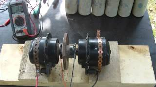 Electric Motor to Motor, can they self run?