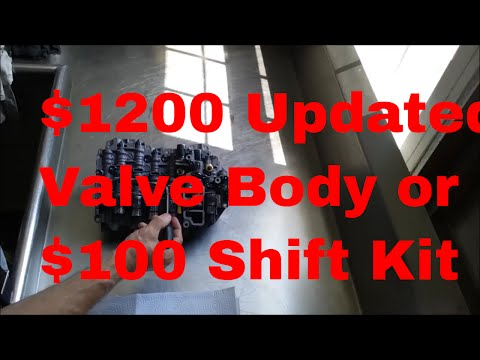 VW 09G Valve Body fix Rebuild and solenoid repair upgrade with shift kit