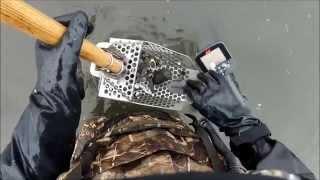 getlinkyoutube.com-Metal Detecting Pier Remains at Low Tide