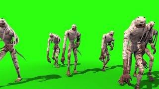 getlinkyoutube.com-Green Screen Hordes Mummies Walking Egypt Pharaohs - Footage PixelBoom