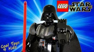 getlinkyoutube.com-Lego Star Wars Darth Vader Buildable FIgures 75111