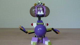 getlinkyoutube.com-LEGO MIXELS SNAX NURP NAUT MIX or MURP?  Instructions Lego 41551 Lego 41529