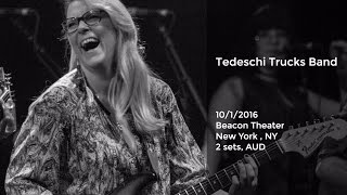 getlinkyoutube.com-Tedeschi Trucks Band Live at the Beacon Theater - 10/1/2016 Full Show AUD