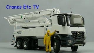 getlinkyoutube.com-Conrad Schwing S 36 X Concrete Pump by Cranes Etc TV