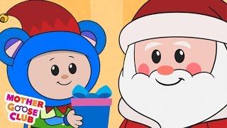 getlinkyoutube.com-Christmas Song | Up on the Housetop | Mother Goose Club Kid Songs and Nursery Rhymes