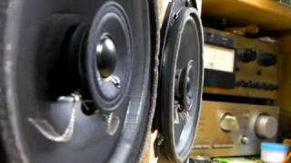 getlinkyoutube.com-test Pioneer Speaker unit MZ596752 TS-06220ZR 16cm (Bass I Love You)