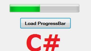 C# Tutorial 17:  How to use Progress Bar and Button