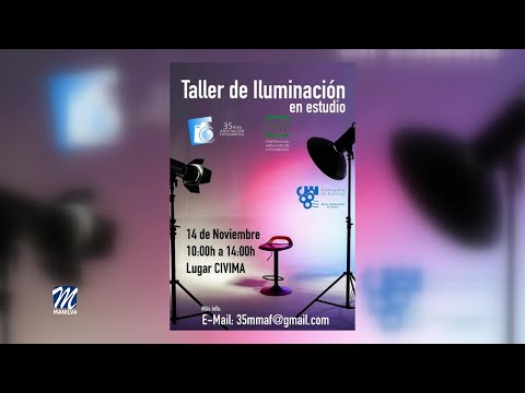 Taller de iluminación en estudio en el Civima