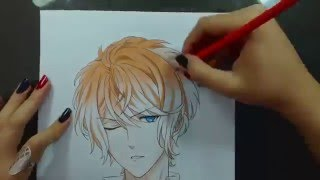 getlinkyoutube.com-Speed Drawing - Sakamaki Shuu (Diabolik Lovers)