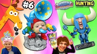 getlinkyoutube.com-Skylanders SuperChargers Hunting Pt. 6: Shawn's First Time Hunt & GEOFFREY STOLE OUR CAR KEYS ッ