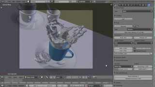 getlinkyoutube.com-Introduction to Blender's Fluid Simulator