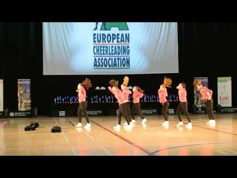 BCA Jokers Cheerleading Europameisterschaft ECC 2014 Senior Street Cheer Platz 1