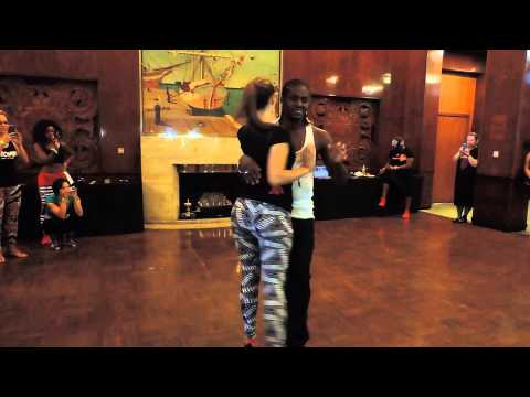 Enah & Isabelle Kizomba attitude demo - 2014 LA Zouk Congress & Kizomba at Sea