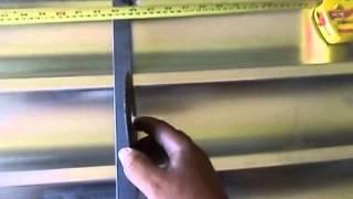 getlinkyoutube.com-Fabricando portão Lambri/ cortando chapas e soldando. com detalhes.