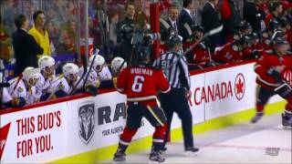 getlinkyoutube.com-NHL Dennis Wideman 20 game suspension & $500.000 Fine. Feb. 2, 2015 HD